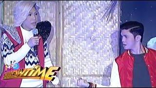 How Vice Ganda And Vhong Play 'Sipa'