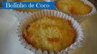 Brazilian Coconut Cupcake - Bolinho De Coco