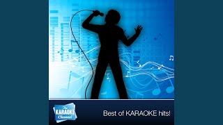 I Fell In The Water [In the Style of John Anderson] (Karaoke Lead Vocal Version)