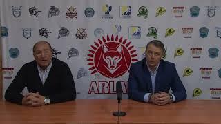 Пресс-конференция «Арлан» - «Алматы»