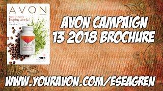 Avon Campaign 13 2018 Brochure
