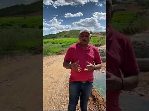 PREFEITURA TRABALHANDO: Construção de passagem molhada entre Sítio do Quinto e Coronel João Sá.