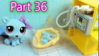 LPS Baby Hospital  - Mommies Part 36 Littlest Pet Shop Series Movie LPS Mom Babies