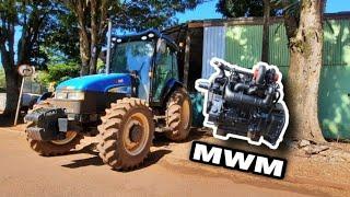 TL 75E Mwm Motor mais Barato de Consertar Toledo-pr