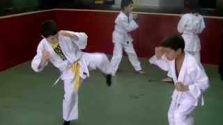 preview picture of video 'Séance de Mixed Martial Arts éducatif.  Association Yoksuthaï.  Pouillon,  Les Landes.'