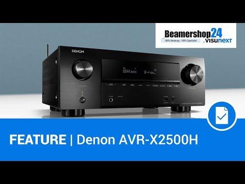 Perfekt fürs Heimkino - Denon AVR-X2500H + HEOS Multiroom Feature