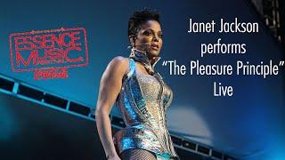 """Janet Jackson performs """"The Pleasure Principle"""" live; 2010 Essence Festival #CDTBT"""