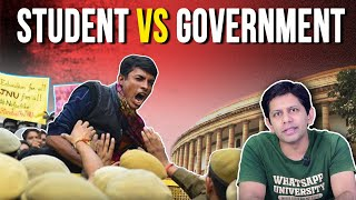 JNU Students Protest: 10 Hard Facts | Ep.119 TheDeshBhakt with Akash Banerjee