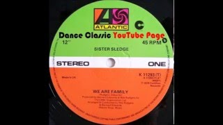 Gambar cover Sister Sledge - We Are Family. (Extended)