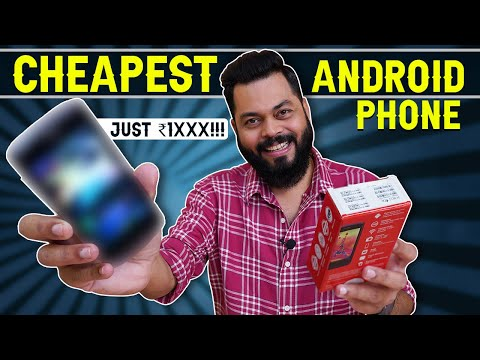 We Bought The Cheapest Android Smartphone From Amazon⚡⚡⚡Just For Rs. 1XXX!!