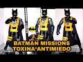 BATMAN MISSIONS / FIGURA MATTEL TRUE MOVES /12 PULGADAS