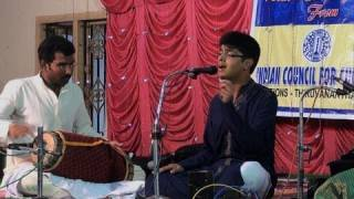 Carnatic music recital by Master Sankar Vaidyanathan