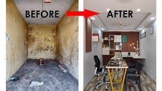Office Restoration | Architecture Interior Design- BEFORE & AFTER | Sam-E STUDIO OFFICE