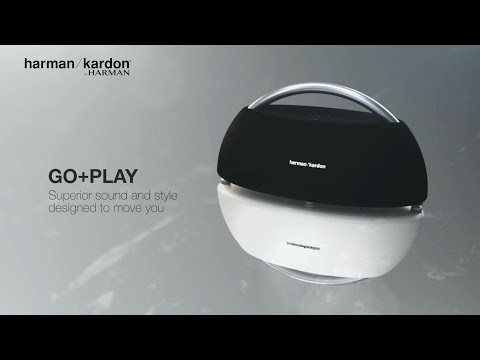 Harman Kardon Go + Play: Portable Bluetooth speaker with rechargeable battery and dual microphone