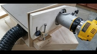 How To Add A Micro Adjuster To The  Horizontal Router Table