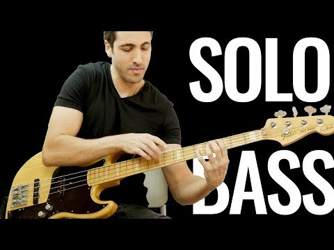 The Beatles - I Want To Hold Your Hand - Solo Bass Arrangement Cover (The Bass Wizard)