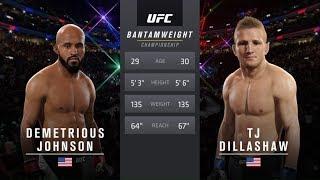 UFC 2 - Деметриус Джонсон против Ти Джея Диллашоу