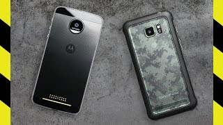 Moto Z Force vs. Galaxy S7 Active Drop Test!