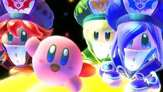 Unlocking New Friends In Kirby Star Allies Final Boss & Ending The Three Sisters (Part 2/2)