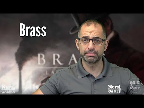 3 Things in 3 Minutes: Brass Lancashire Review