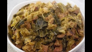 SOUTHERN STYLE SMOTHERED CABBAGE RECIPE WITHOUT PORK