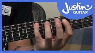 12 Bar Blues Bass Lines - Blues Guitar Tutorial - Stage 4 Guitar Lesson [IM-146]