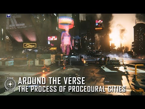 Star Citizen: Around the Verse – The Process of Procedural Cities