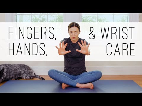 Yoga For Hands, Fingers, Wrists     11-Minute Yoga Quickie     Yoga With Adriene