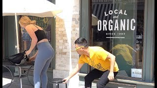 Chair Pulling Prank in Venice Beach 3!!!