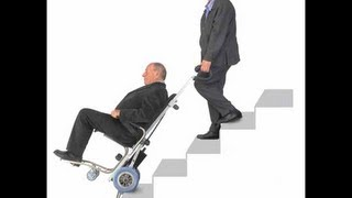 Trepadora universal: equipo salvaescalera para discapacitados