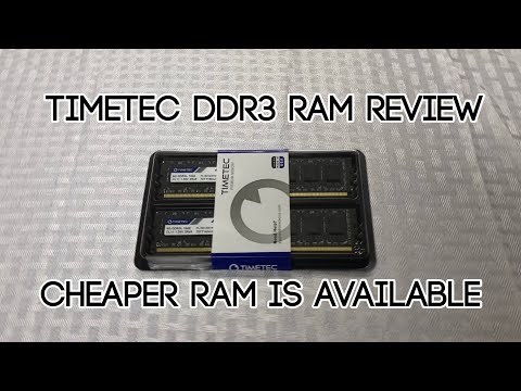 TimeTec DDR3 Ram Review | Quality Ram For Less Is Here