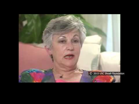 La sobreviviente del Holocausto Lilli Silbiger habla del asesinato de aquellas que trataron de escapar de la marcha de la muerte