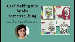 Card Making Kits by Lisa | Sweetest Thing