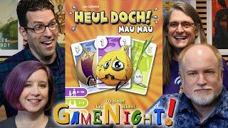 Heul Doch! Mau Mau - GameNight! Se7 Ep46 - How to Play and Playthrough