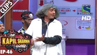 Dr Mashoor Gulati Teaching Dance To His Patients  The Kapil Sharma Show  Ep46 25th Sep 2016