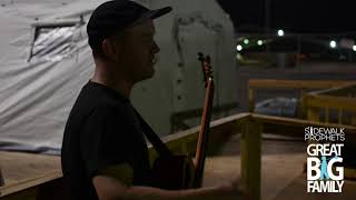 Sidewalk Prophets Visit FEMA Camp in Beaumont, TX