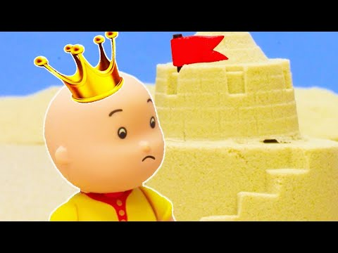 👑 King Caillou 👑 | Funny Animated Kids show | Caillou Stop Motion