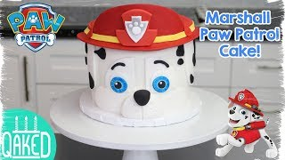 How To Make A MARSHALL From PAW PATROL CAKE!