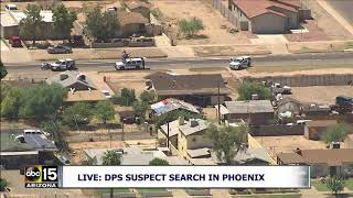 LIVE: SUSPECT FLEES FROM POLICE ON FOOT!! Watch Search After Traffic Stop In Phoenix, Arizona