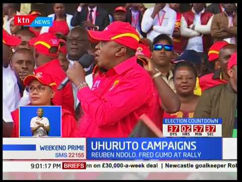 President Uhuru Kenyatta asks Raila to bow out if not ready for the presidential election repeat