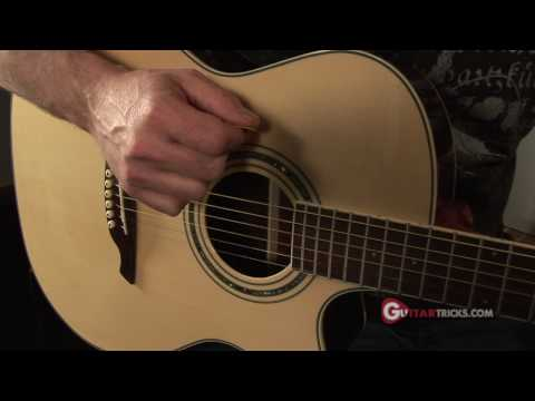 Guitar Rhythm Pattern Lesson For Acoustic Guitar * Learn Guitar Online
