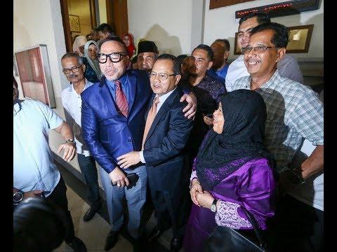 Mahkamah Tinggi kekalkan kemenangan Ahmad Hamzah di Parlimen Jasin