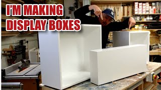 Making MDF Display Boxes & Display Plinth / Pedestal (Timelapse)
