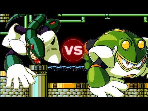 Mega Man 4 - Part 1 - Toad Man - ZackScottGames - Video