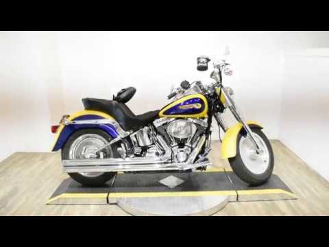 2004 Harley-Davidson FLSTFI FATBOY in Wauconda, Illinois - Video 1