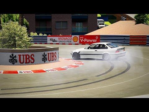 DRIFT en el GP MONACO // Assetto Corsa