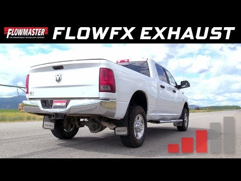 2003-12 Dodge RAM 2500/3500 5.7L, 2006-08 RAM 1500 MegaCab 5.7L - FlowFX Cat-back Exhaust 717867