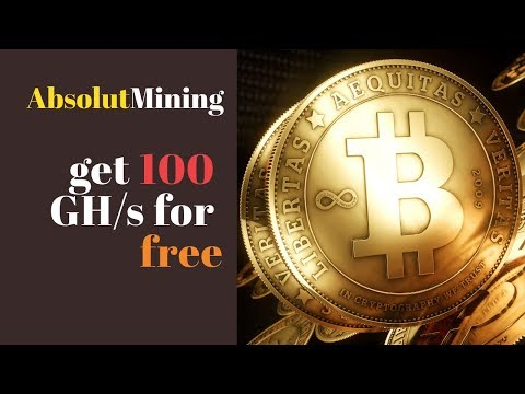AbsolutMining (AbsolutMining.com) отзывы 2019, обзор, 100 GHs for free, Live Withdraw 0.001050 BTC