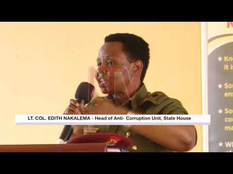Anti-corruption unit trains new officers