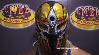 """Máscara Dorada: """"Quiero demostrarle a Rush la verdadera lucha"""""""